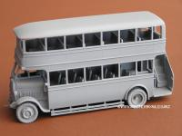Image - Model bus in primer and ready to paint